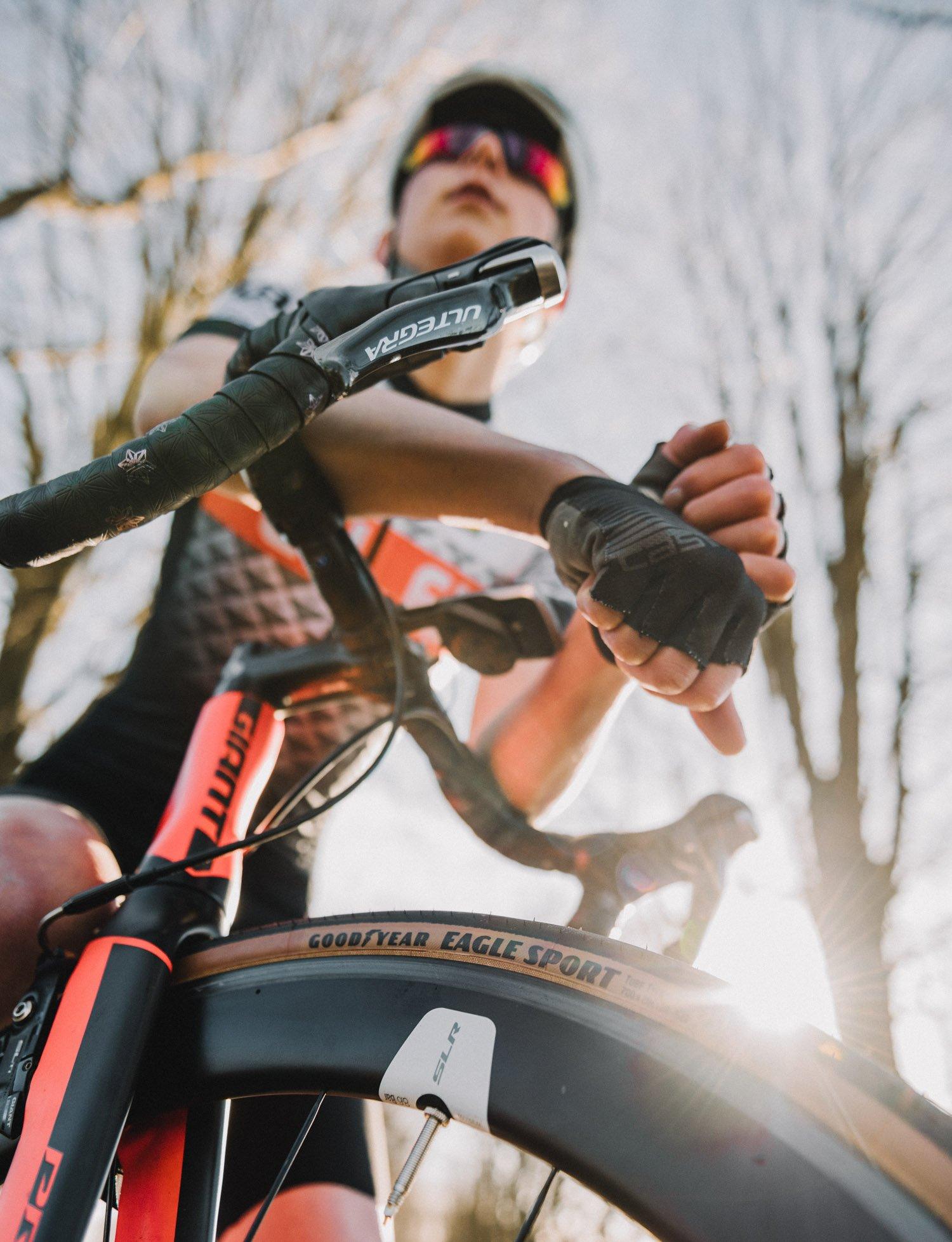 Goodyear Eagle Sport Tan Wall bike tire