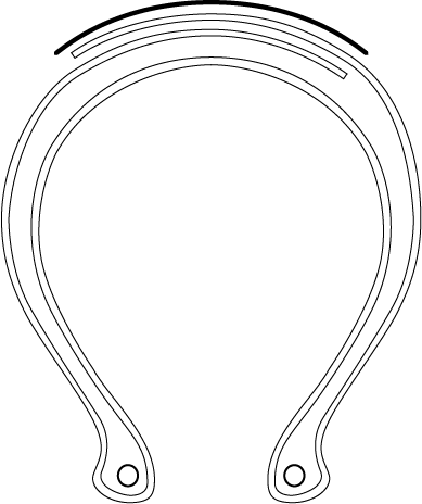 Diagram of Goodyear 2-Ply tire