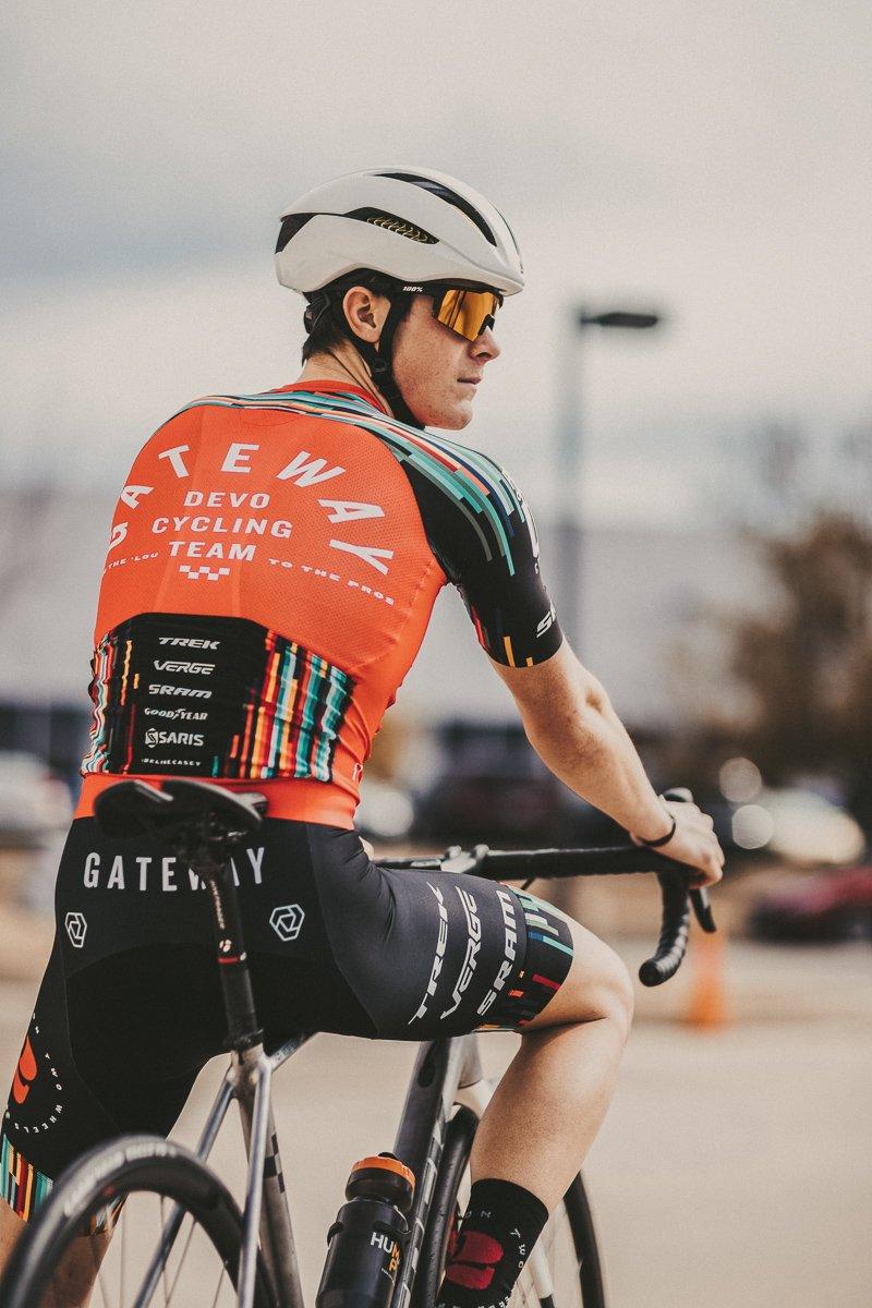 Photo of Goodyear road team cyclist
