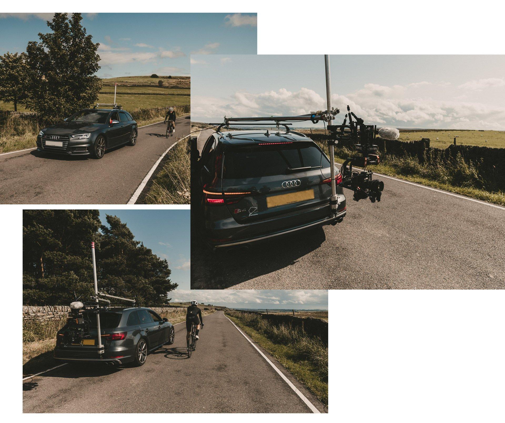 Audi S6 film rig