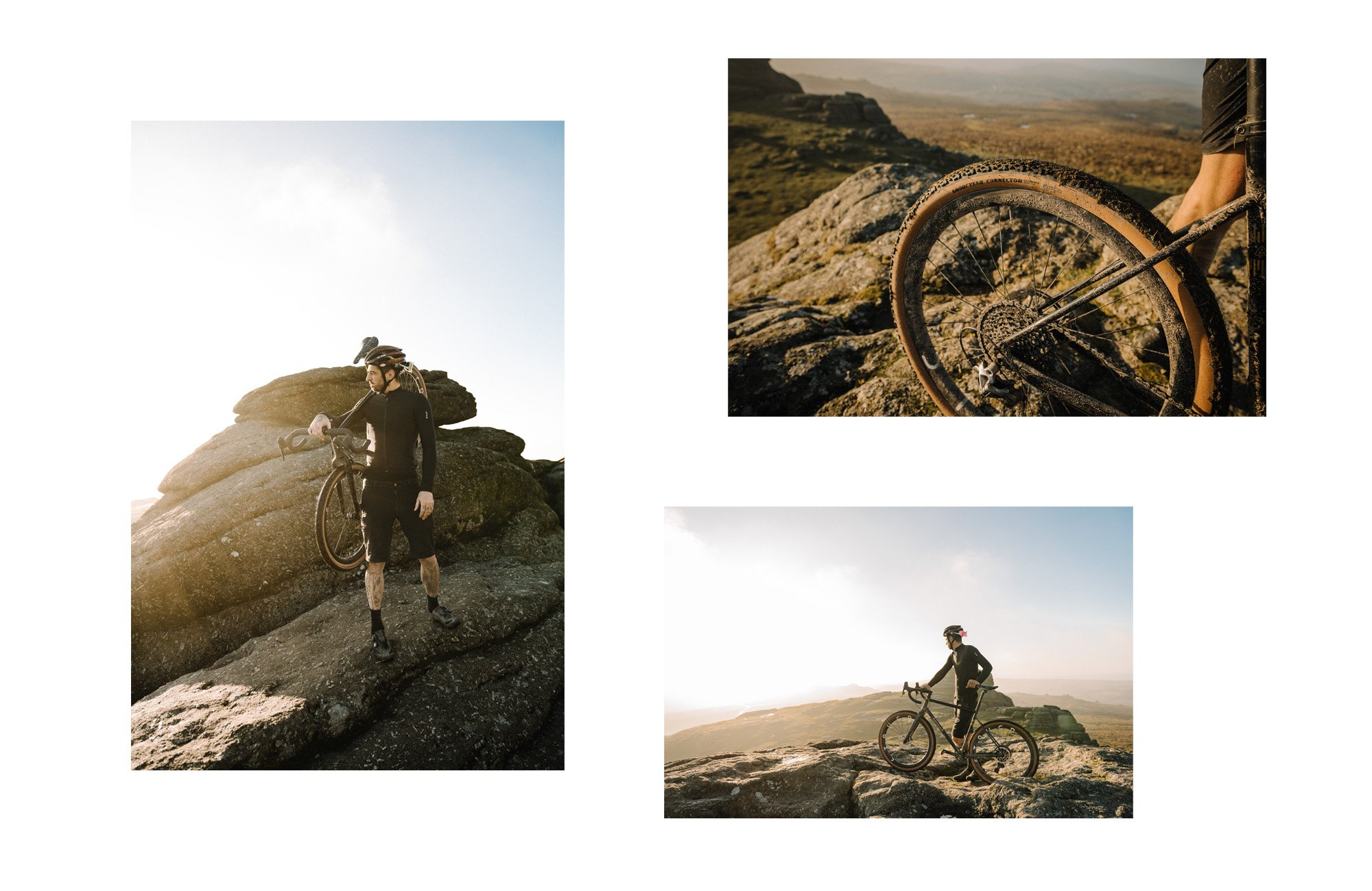 Photo montage of Dave Noakes Wingfoot athlete