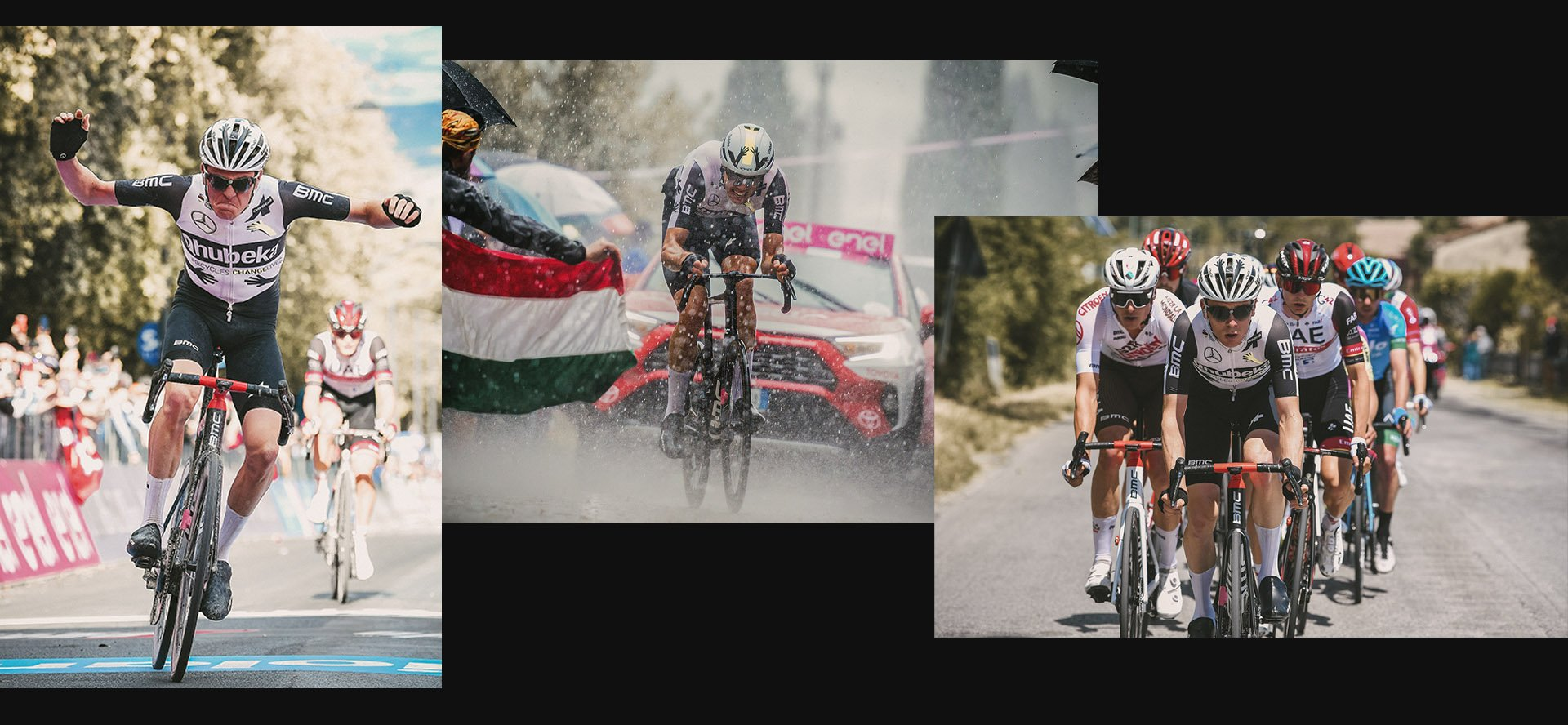 Colour photo of Qhubeka ASSOS & Goodyear Bike